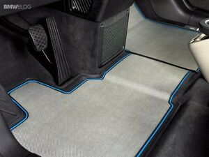 Bmw Genuine Front All Weather Floor Mats I3 072 514723480723 Ebay