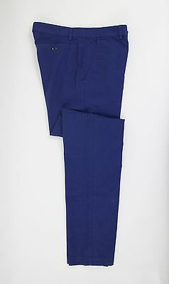 New Freemans Sporting Club Royal Blue Soft Cotton Winchester Pants $191
