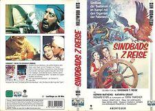 (VHS) Sindbads 7 siebente Reise - Kerwin Mathews, Kathryn Grant, Richard Eyer