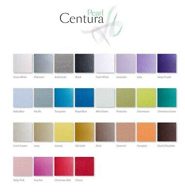 310gsm 28 Colours Choose Qty Single Sided A4 Centura Pearl Pearlescent Card