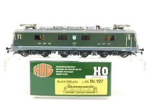 HO-Scale-HAG-197-SBB-Swiss-Federal-Auvernier-Re-6-6-European-Electric-Loco-11658
