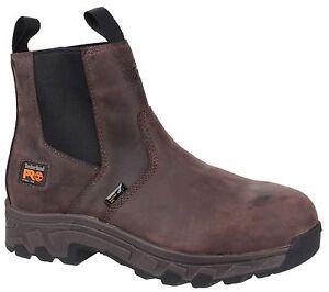la moitié c6757 8acc4 Détails sur Timberland Pro Workstead Chelsea Embout Coqué Sécurité Homme  Chaussures de