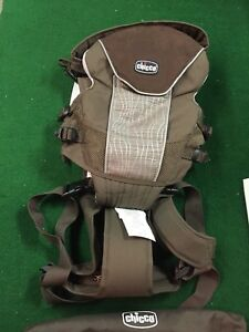 Details About Chicco Ultrasoft Magic Brown Infant Baby Carrier Model 10960 With Bag