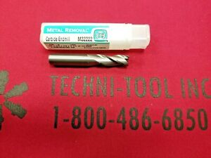 "G Metal Removal 3//8/"" x 3//8/"" x 7//8/"" x 2-1//2/"" 3FL Carbide Square End Mill M32222,"