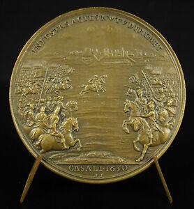 Medal-Jules-Mazarin-War-of-Succession-Mantua-Fortress-of-Casale-1630