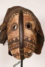 7 Maske der Dan Liberia Afrika