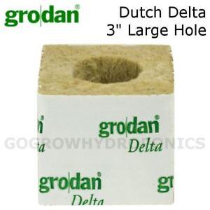 """Rockwool néerlandais DELTA 3"""" grand trou Cube-GRODAN-afficher le titre d`origine yZsKxeDC-07194011-116843630"""