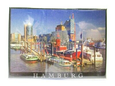 Hamburg Metall Magnet Elbphilharmonie Michel Rathaus Germany Souvenir