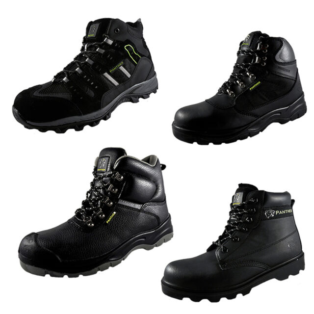 Panther Parweld Mens Hiking, Workwear, Protective Boots £14.99