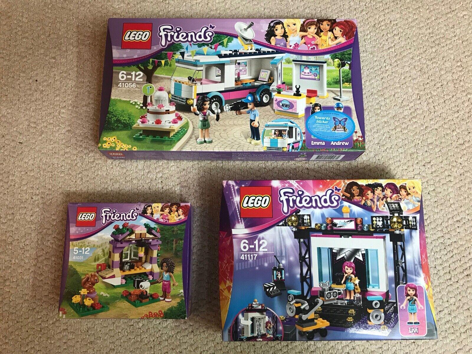 NEW - LEGO Friends Bundle - 41031 41056 41117 - ALL BNIB + Free P&P