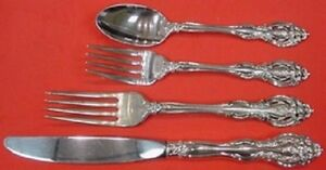Le Moderne By Wallace Sterling Silver Regular Size Place Setting 4pc s