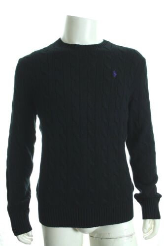 BNWT RALPH LAUREN ROVING CABLE CREWNECK SWEATER JUMPERS LONG SLEEVE SZ XL RP£110