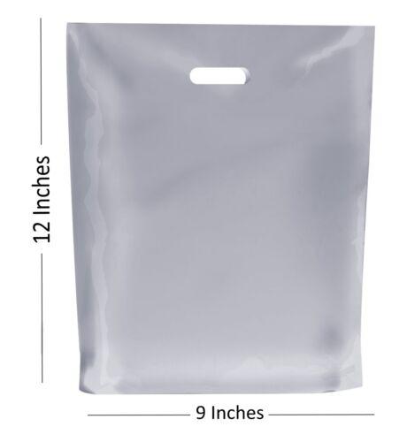 environ 30.48 cm 9 x 12 in 20-Givré Sacs Plastiques//Cadeau Magasin Boutique Sac
