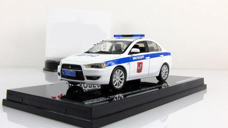1 43 vitesse mitsubishi lancer x Russian police DPS Moscow militia 2010 29257