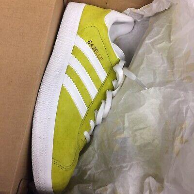Adidas Gazelle 7.5 Uk7 Lime Brand New