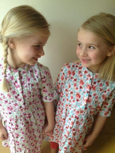 New Girls Summer 100/% Cotton Flower Print Dress from Tutti Frutti-Sweden