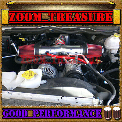 RED DUAL 1999-2004/99-04 JEEP GRAND CHEROKEE/LAREDO 4.7L V8/HO AIR INTAKE KIT