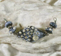 Lgl Handmade Lampwork Beads - Star Shine Nc1032- Sra - Loose Glass - Artist