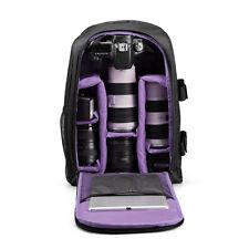 Neu Wasserdicht Kamera Backpack Bag DSLR SLR Case Foto Rucksack Für Canon Nikon