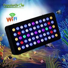 PopularGrow 165W Led Aquarium Lamp WIFI Control LED-Aquarium Licht Meerwasser