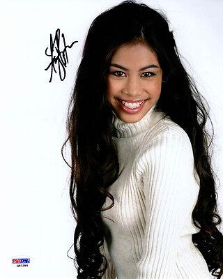 Entertainment Memorabilia Ashley Argota Signed 8x10 Photo Liberty Crossing Adopted Psa/dna Autographed