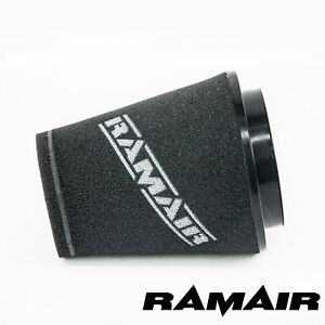 RAMAIR-INDUCTION-FOAM-CONE-AIR-FILTER-UNIVERSAL-100mm-NECK-164mm-TALL