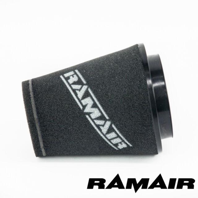 RAMAIR INDUCTION FOAM CONE AIR FILTER UNIVERSAL 100mm NECK - 164mm TALL