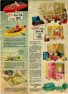 1976-PAPER-AD-Doll-Barbie-Ken-Olympic-Gymnast-Ski-Raft-Boat-Cruiser-Luggage-Pool