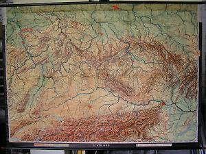 Schulwandkarte Wandkarte Map Karte 215x155cm Deutsche