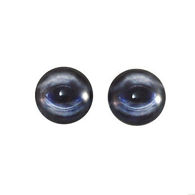 14mm Blue Whale Glass Ocean Doll Eyes Art Sculptures Jewelry Making Taxidermy
