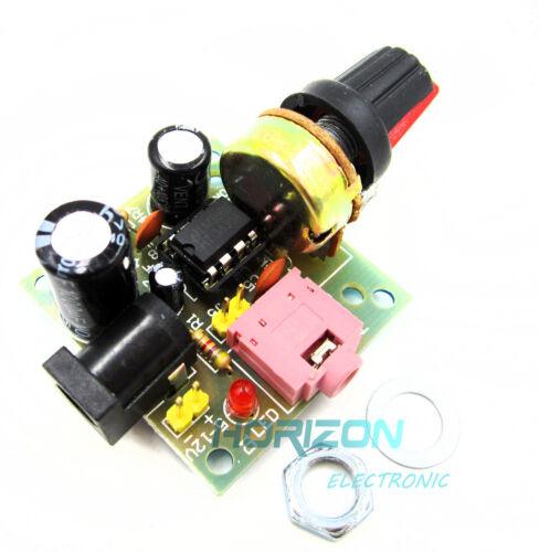 2PCS Super MINI Amplifier Board 3V-12V Power Amplifier LM386