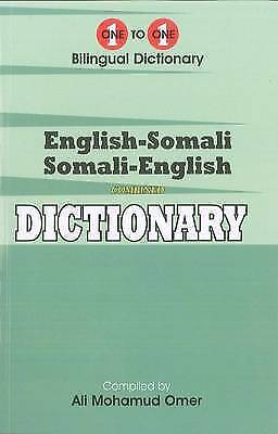 English-Somali & Somali-English One-to-One Dictionary by Omer, A. M. (Paperback