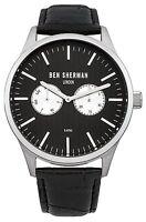 Ben Sherman Wb024b Spitalfields Social Multi Dial Gents 2 Year Guar Rrp £90