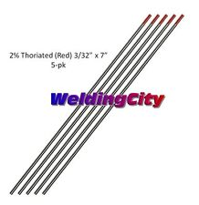 2/% Wl20 Lanthanide Tig Mig Arc Ac Dc Blue ABN 9081 Tungsten Welding Electrodes Pack of 10 Auto Body Now