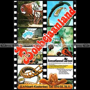 BOBBEJAANLAND-LICHTAART-Parc-d-039-attractions-1980-Pub-Publicite-Ad-A1538