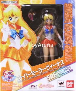 S.h.   Figuarts Super Sailor Venus Moon (Figurine Articulée) Etats Unis En Stock 4549660198055