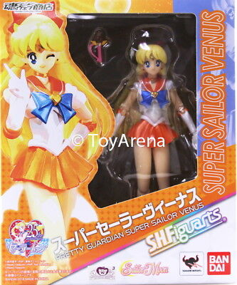 S.H Figuarts Sailor Mars Sailor Moon Action Figure Bandai IN STOCK USA