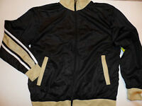 Athletech Polyester Sports Athletic Jacket Size: M Black