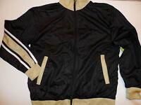 Athletech Polyester Sports Athletic Jacket Size: M Black