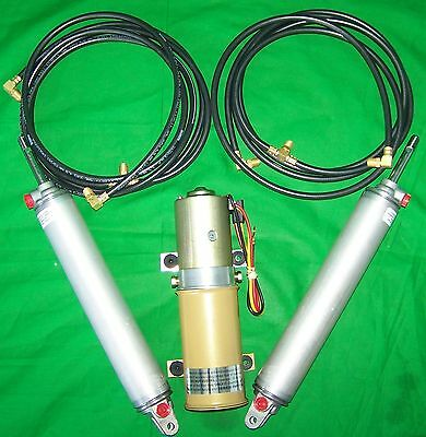 1958-1963 Chrysler Imperial Convertible Top Hydraulic Kit - Pump Hoses Cylinders