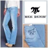 Mek By Miss Me Light Wash Low Rise leland Stretch Jeans Size 28 X 34