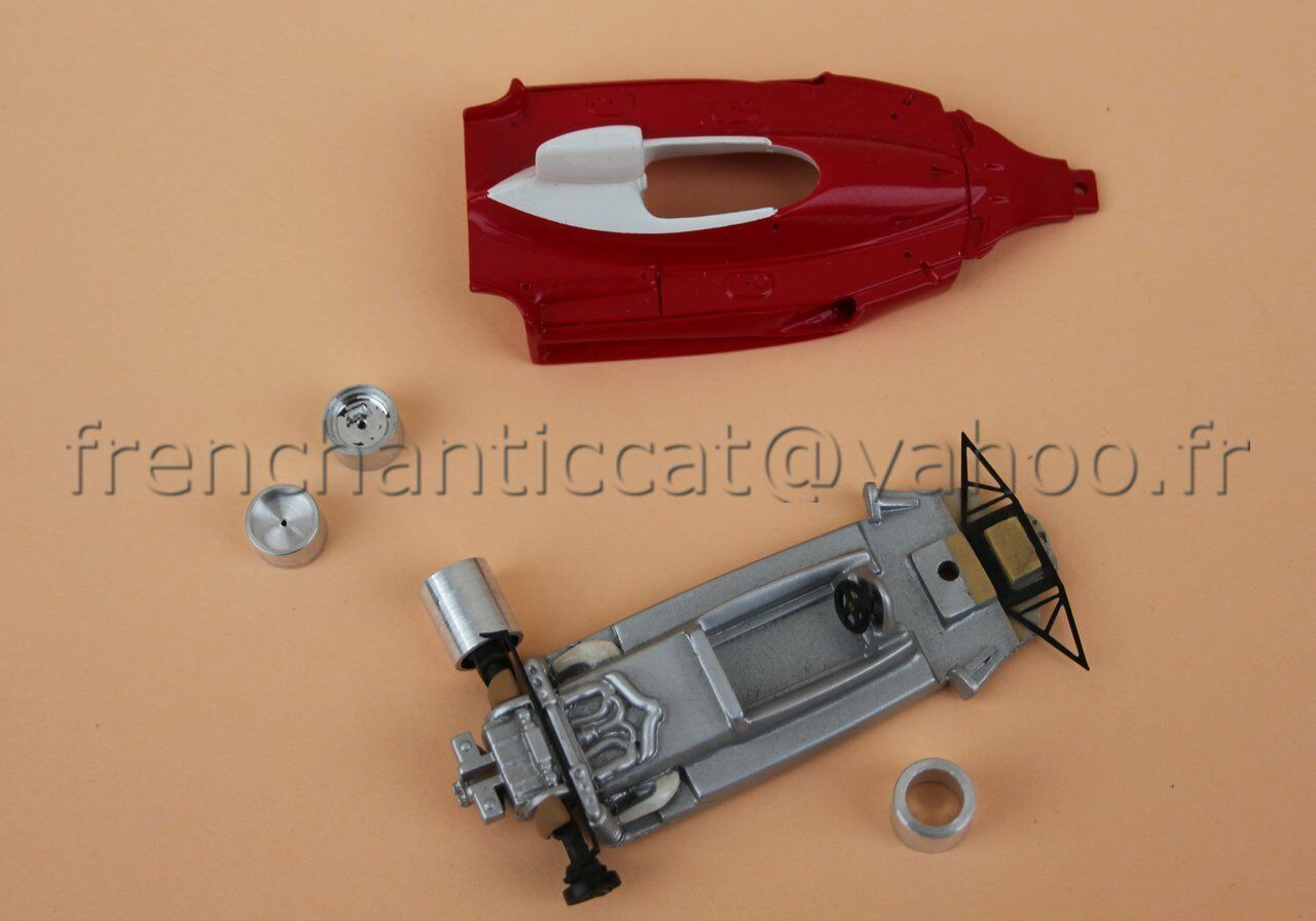 YV Voiture  course Ferrari F1  312 T 1 43 Miniatures du Chateau Heco modeles  est réduit