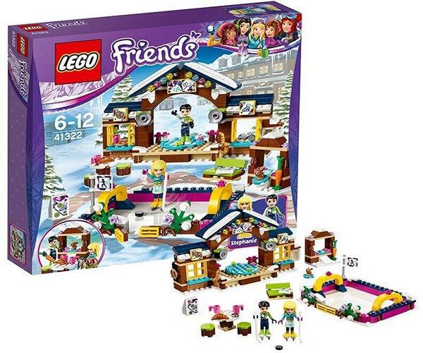 LEGO Snow Resort Ice Rink Construction Toy