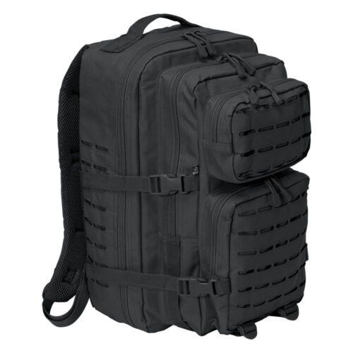 Brandit Rucksack US Cooper Laser Cut Daypack Trekking Rucksack Large schwarz