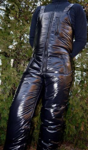 Glanznylon LACK  Skihose Skilatzhose 2 Farben Gr XS-5XL 25 mm Wattierung