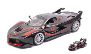Ferrari Fxx-k # 5 Noir / Rouge Modèle 1:18 16010bk Bburago