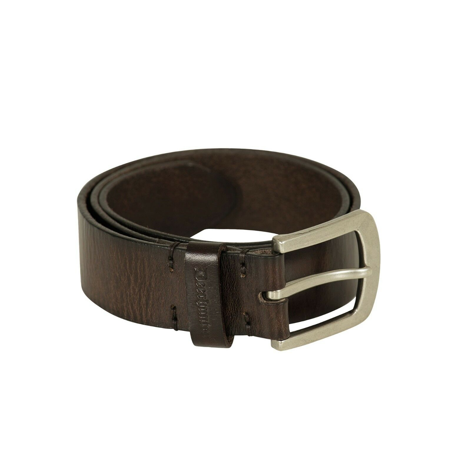 Deerhunter Leather Belt Dark Brown Men's Country Hunting Shooting RRP .99