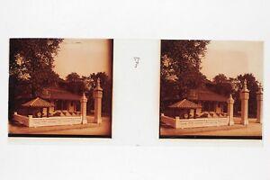 PARIS-1931-Exposition-coloniale-internationale-Plaque-de-verre-Stereo-Positif