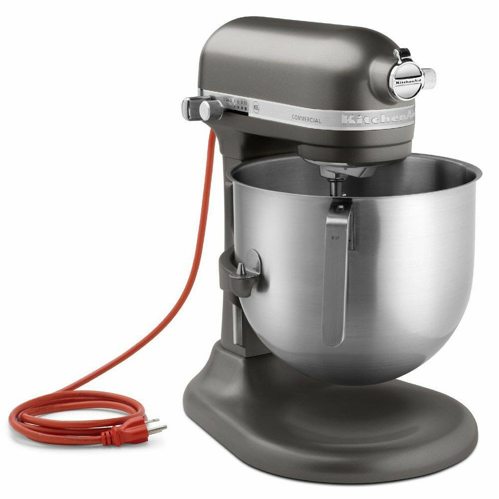 KitchenAid commercial 8-Qt Bowl Lift NSF robot mélangeur KSM8990DP 1.3HP Dark Pewter