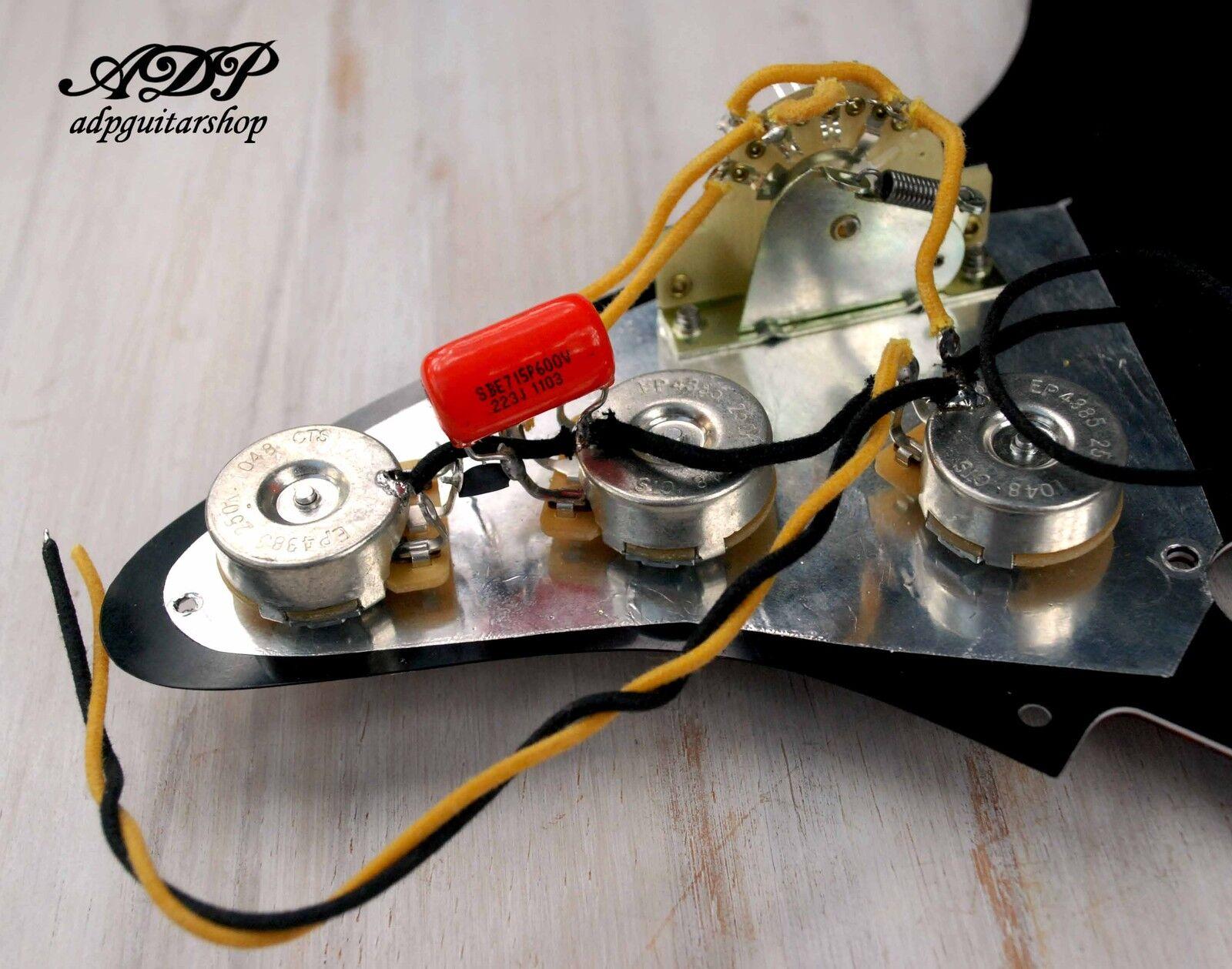 Kit de Controle Electronique Electronique Electronique Vintag Cable pour guitares style Stratocaster Wirojo  descuento de ventas